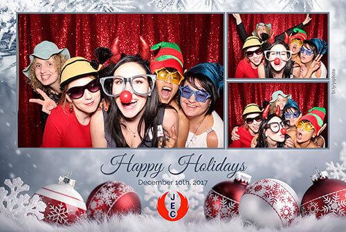christmas photo booth photo