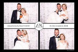 bride and groom wedding photo booth Malta print