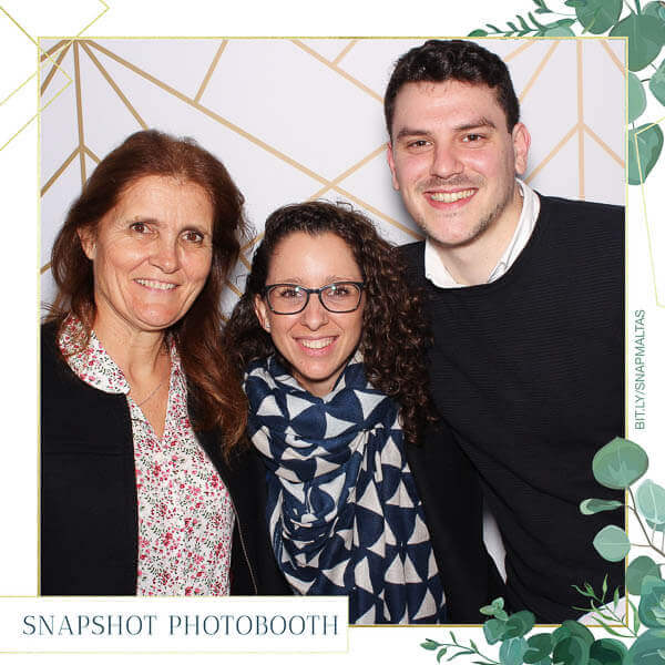 A square photo booth print
