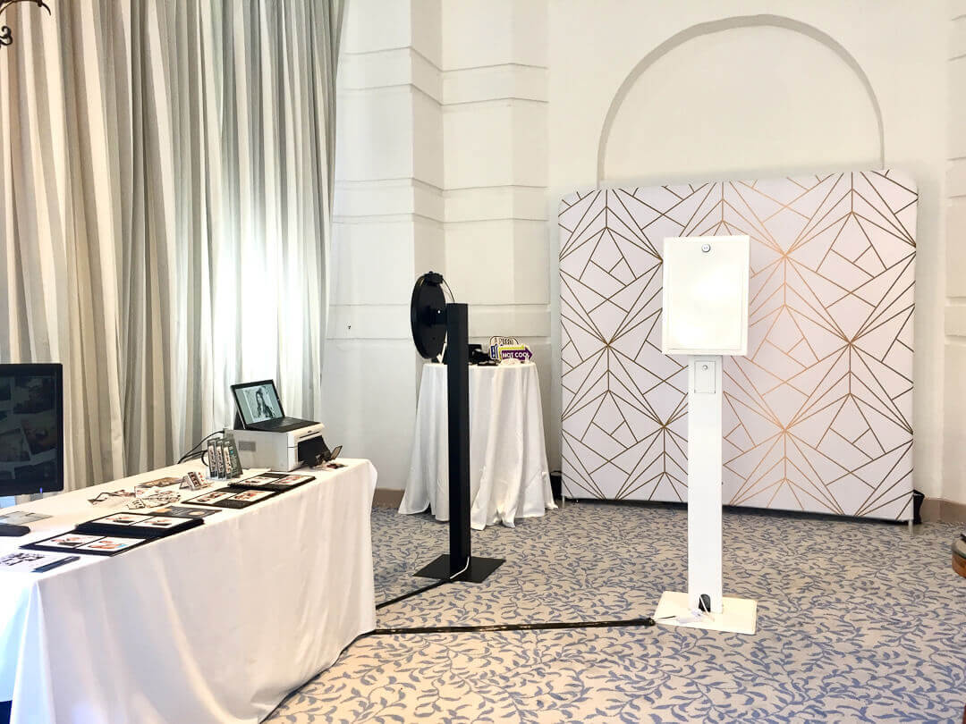 Our set up at eh Phoenicia Wedding Open day
